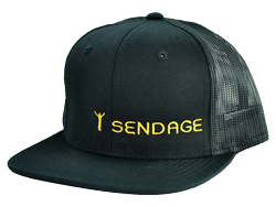 Sendage Logo Hat. Buy now via PayPal.